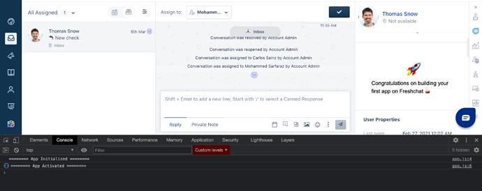 Freshchat conversation_user_info